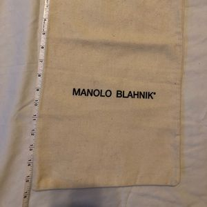 Manolo Blahnik Dust Bag